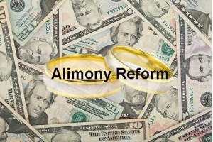 Alimony reform. Rings and Paper money